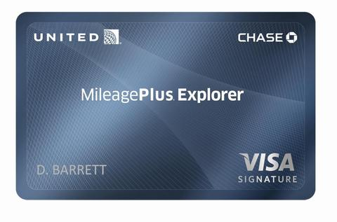 The United MileagePlus Explorer Card, offering a limited time 50,000 point sign-up bonus!