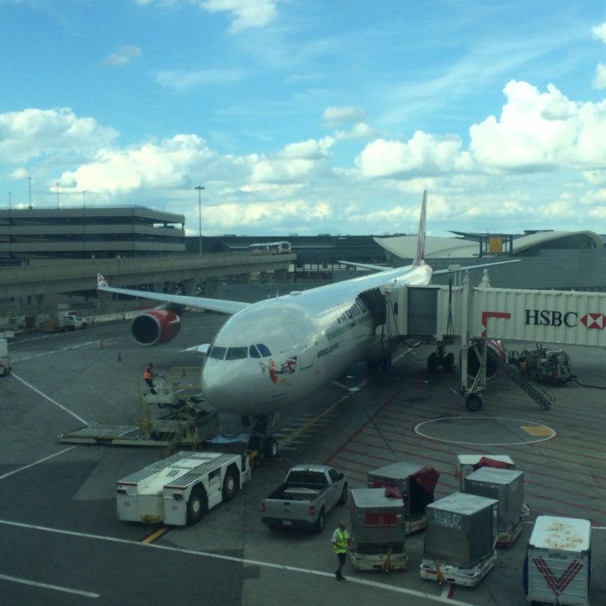 The Virgin Atlantic A340