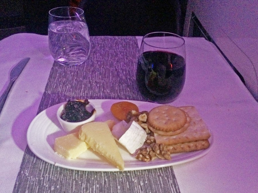 The cheese plate wasn't too shabby