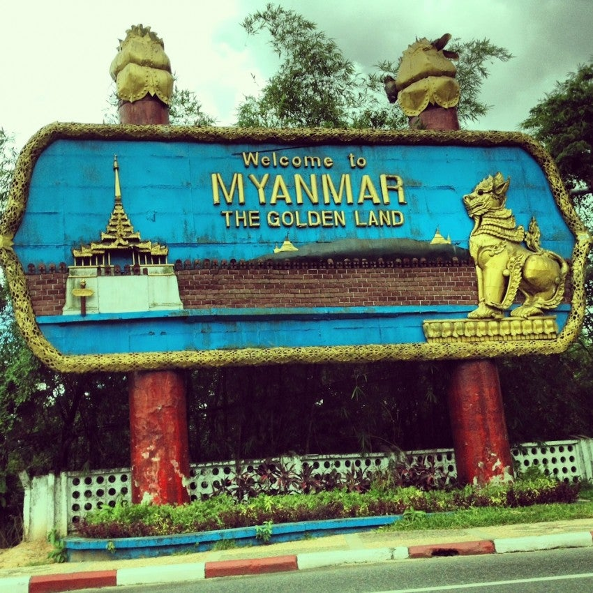 Visitors are welcome in Myanmar again.