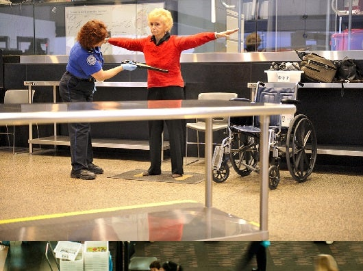 Clearly the TSA has foiled another attack. Image courtesy of Shutterstock.
