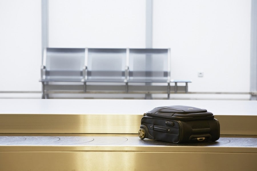 The Citi Premier covers you in the event that your baggage is lost or damaged. Image courtesy of Shutterstock.