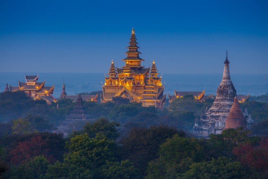 Always wanted to see the temples of Bagan in Myanmar? This pass could well be the ticket. (Image courtesy of Shutterstock)