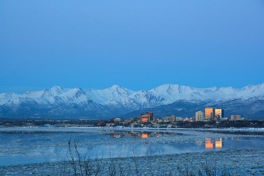 For most travelers, Anchorage will be your gateway to Alaska. Image courtesy of Shutterstock.