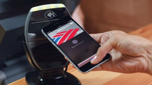 Pay with your phone with Apple Pay.