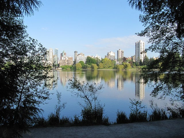 While you're in Vancouver, don't miss out on a stroll in Stanley Park (photo by Melanie Wynne)