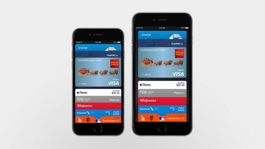 Apple Pay will available on both the iPhone 6 and iPhone 6 Plus.
