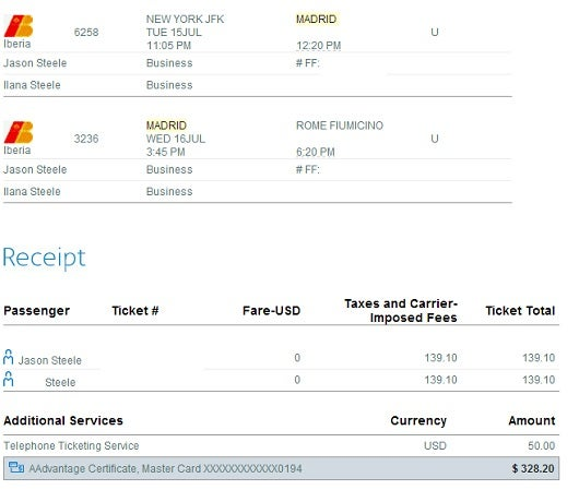 I requested a refund for the $328 in taxes fees and fuel surcharges specific to Iberia, which I ended up not flying.