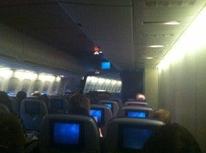 Economy Cabin Seats on Previous Flight