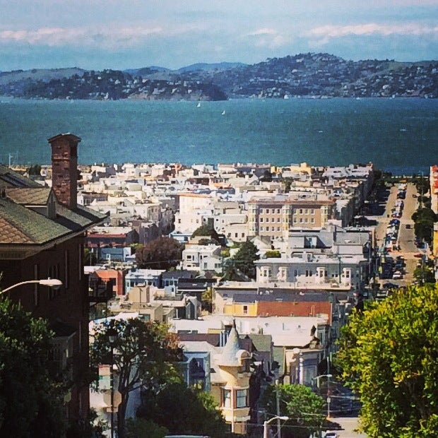 The views from San Francisco's Pacific Heights never get old (photo by Melanie Wynne)