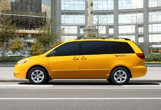 A mine-van taxi is a beautiful site when you travel in group of five or six! (Image courtesy of ShutterStock)