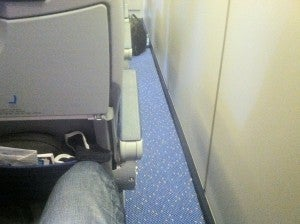 My first flight on KLM's economy comfort-the seats seemed larger!