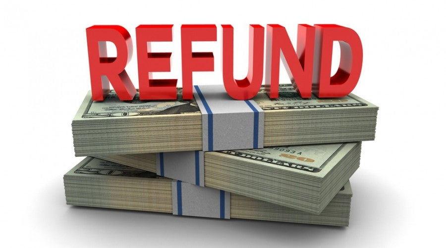 Image result for REFUNDS