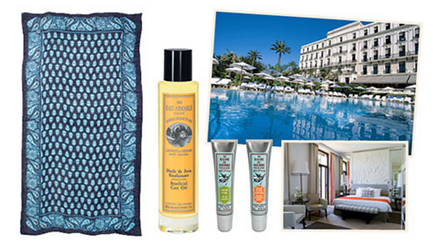 Lucky Magazine is giving away a four-night trip to France's Cote d'Azur and two shopping sprees.