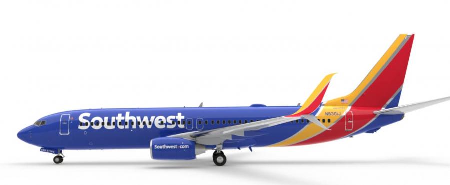 Resultado de imagen para southwest 737 png