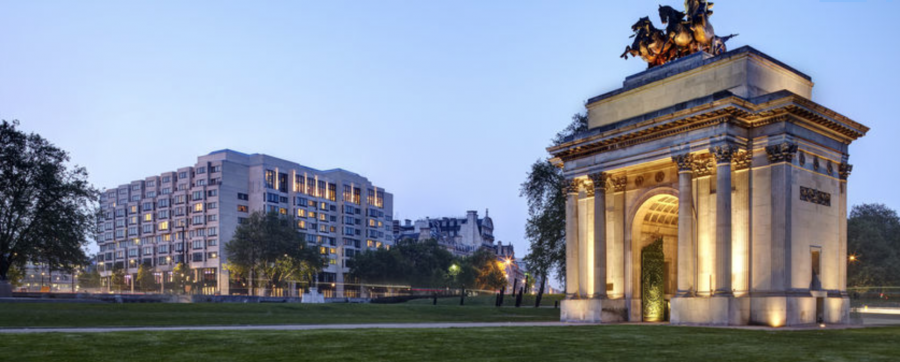 You could stay at the InterContinental London Park Lane for $287.50 vs paying the regular rates of $550.