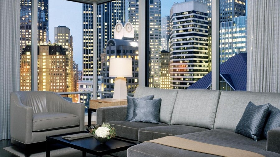 The Astor Suite at The St. Regis San Francisco is included in the Legacy rates deal.