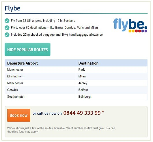 Non alliance airline partners knowing is half the battle the award flights on european discount carrier flybe are available when you transfer your ba avios to publicscrutiny Gallery