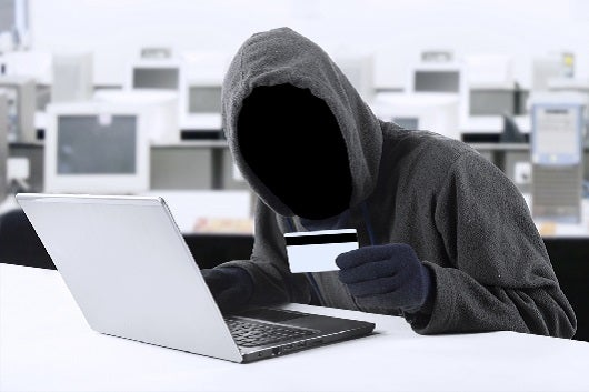 The goal of most hackers is to obtain your credit card information. Image courtesy of Shutterstock.