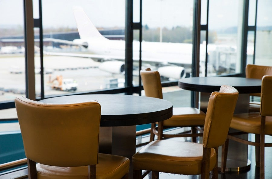 Airport lounge access can making waiting for your flight a pleasant experience. Shutterstock.