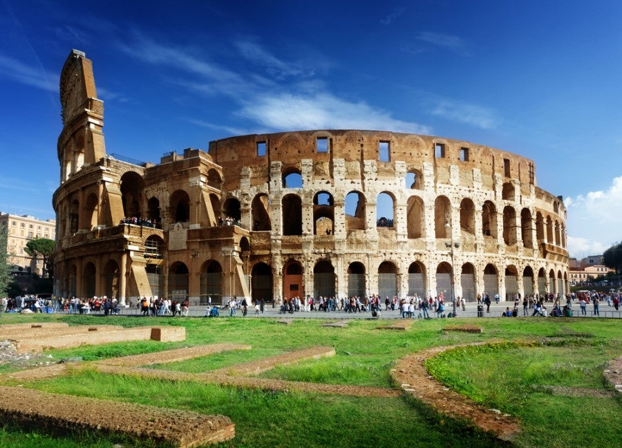 The flight to Italy isn't your only expense...tour buses, train tickets, museum entrances and more all add up. Shutterstock.