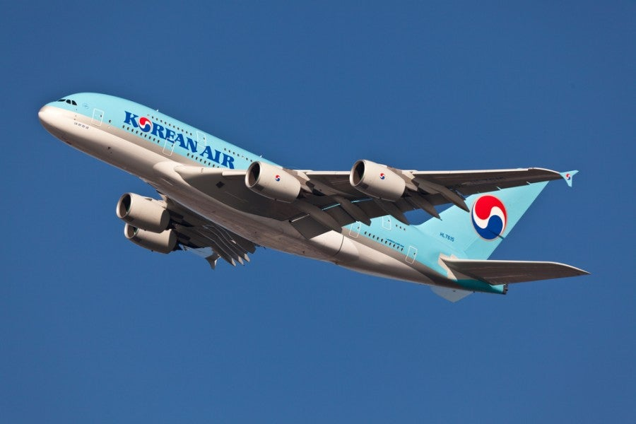 It will be difficult to get Delta miles for flying Korean Air, even though they are both in the Skyteam alliance. Shutterstock.