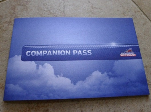 The Southwest Airlines Companion Pass is so valuable, that it is in a class by itself.