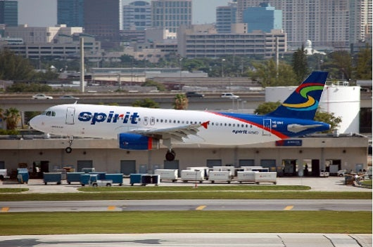 Ultra discount carriers like Spirit might be your best bet if there are no awards available (Image courtesy of Shutterstock).