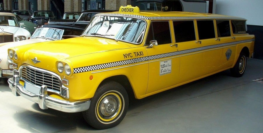 stretched cab taxi limo