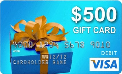 Congrats to TPG reader Eric V. on winning the $500 giftcard!!