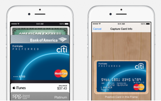 Setup is as simple as taking a picture of your card.