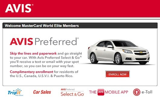 Avis coupon codes for October 30, 12222