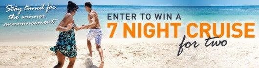 Win a seven night cruise