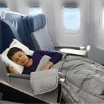 Domestic Routes with International Business and First Class