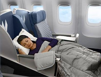 American's international business class isn't much, but it's better than domestic first class!