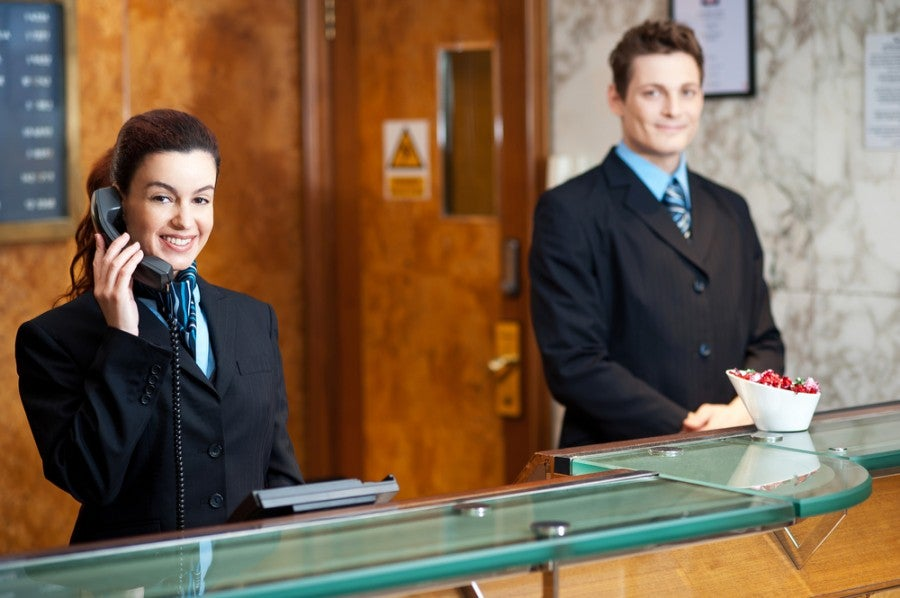 You can try, but usually hotel staff will catch on and merge the reservations. Shutterstock.