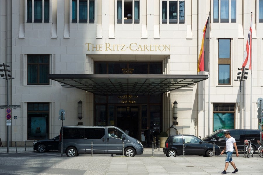 You won't get a great value using your Amex Reward points to stay at the Ritz-Carlton. Image courtesy of Shutterstock.