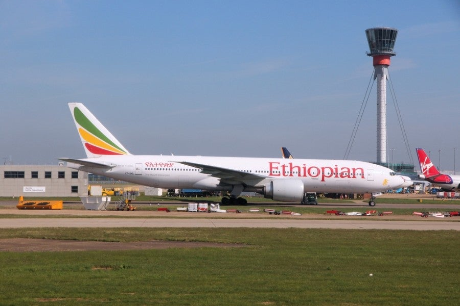 Ethiopian Airlines expands service to LA and Dublin. Photo courtesy of Shutterstock.