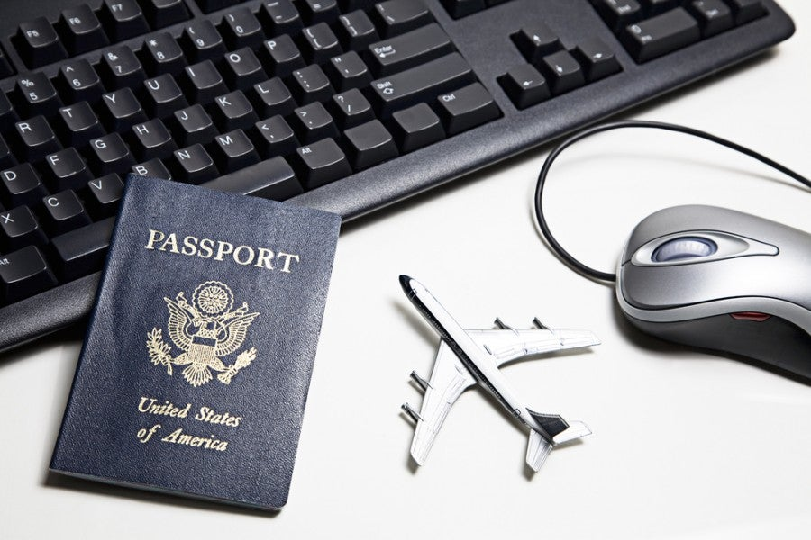 You usually won't get elite benefits if you book your hotel stay through an online travel website. Image courtesy of Shutterstock.