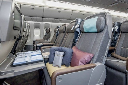 China Airlines' newly created Premium Economy