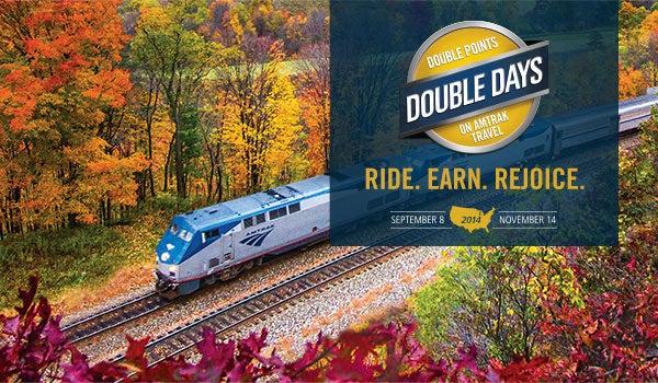 Amtrak's Double Days