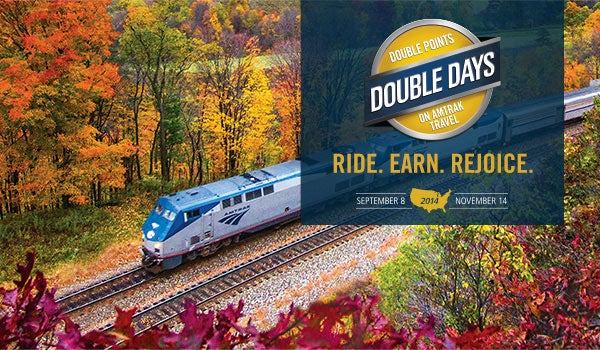 Amtrak's Double Days