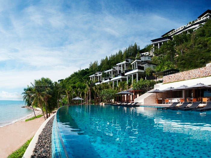 The Conrad Koh Samui in Thailand is a Hilton HHonors Category 10 hotel, requiring