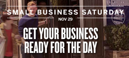 TODAY is Small Business Saturday. Shop with your Amex and receive statement credits!