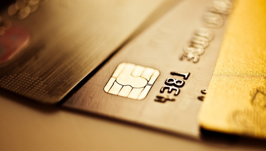 Having three credit cards is by no means outrageous. Photo courtesy of Shutterstock.