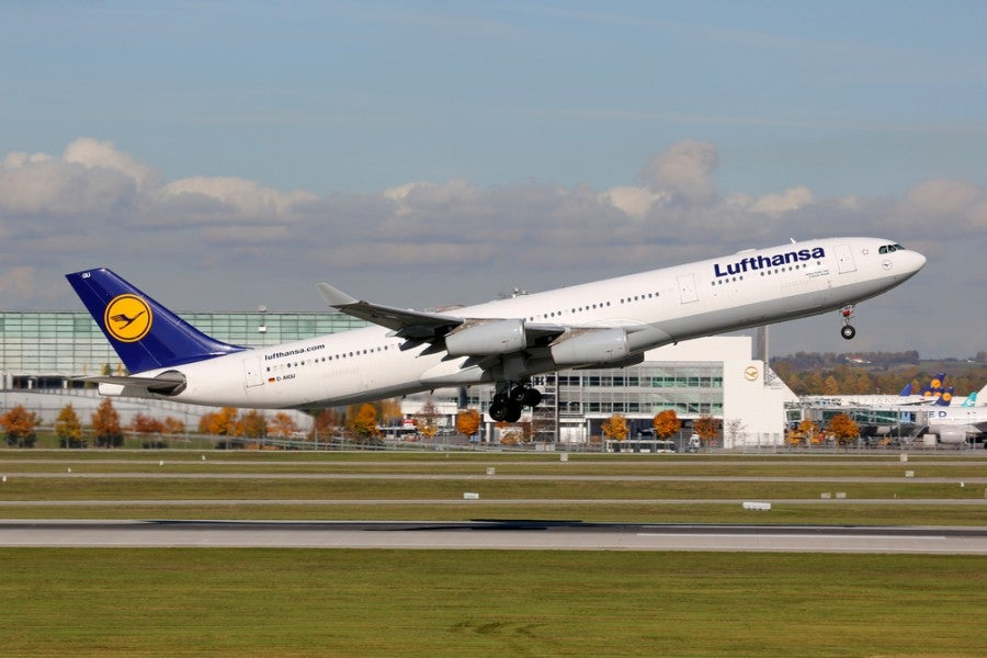 Lufthansa will fly from Frankfurt to Tampa in 2015. Photo courtesy of Shutterstock.