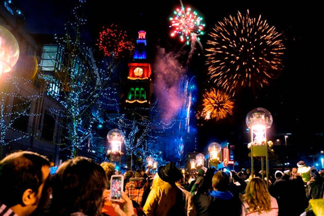 Hit downtown Denver for some New Year's Eve pyrotechnics (Image courtesy of Visit Denver)
