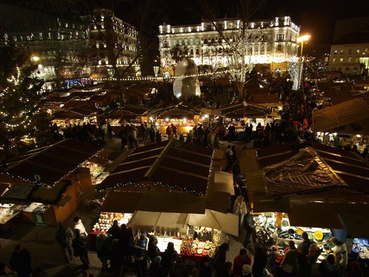 Budapest Christmas Fair (photo courtesy of BFTK Budapest Festival and Tourism Centre)