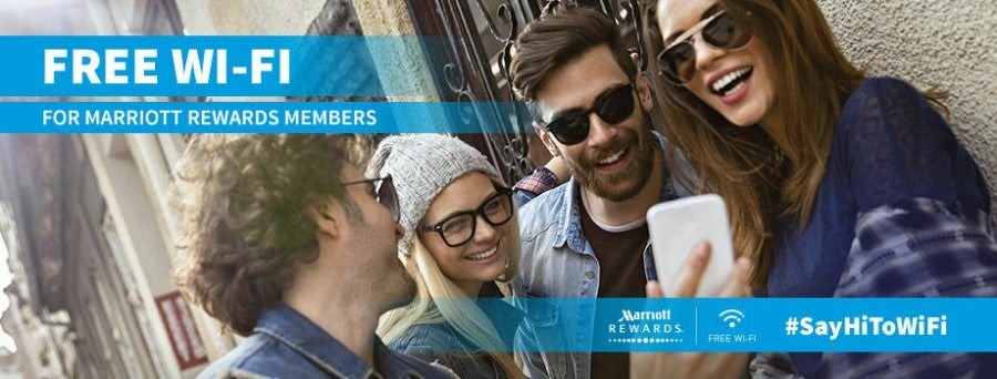 Starting January 15, 2015, Marriott Rewards will offer free Wi-Fi to all its members - not just elites.