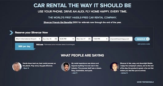 Silvercar Review Luxury Car Rentals For The Tech